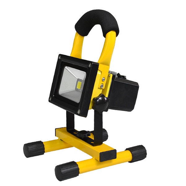 Portable Outdoor 5w Led Rechargeable Work Garage Flood: Rechargeable Portable LED Flood Light 10W