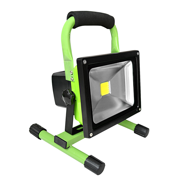 Led Flood Light Rechargeable 20w: Rechargeable Portable LED Flood Light 20W